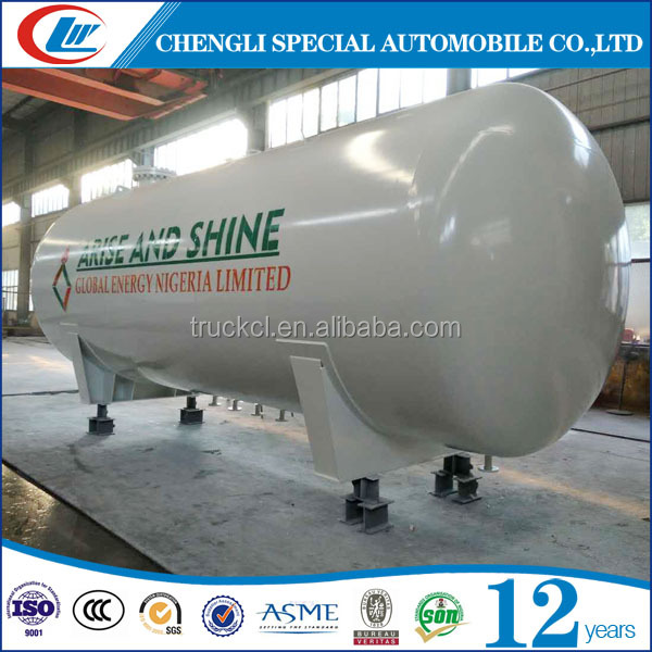 Customized Size 50 Cubic Meters Propane Tanker 25MT LPG Storage Tank