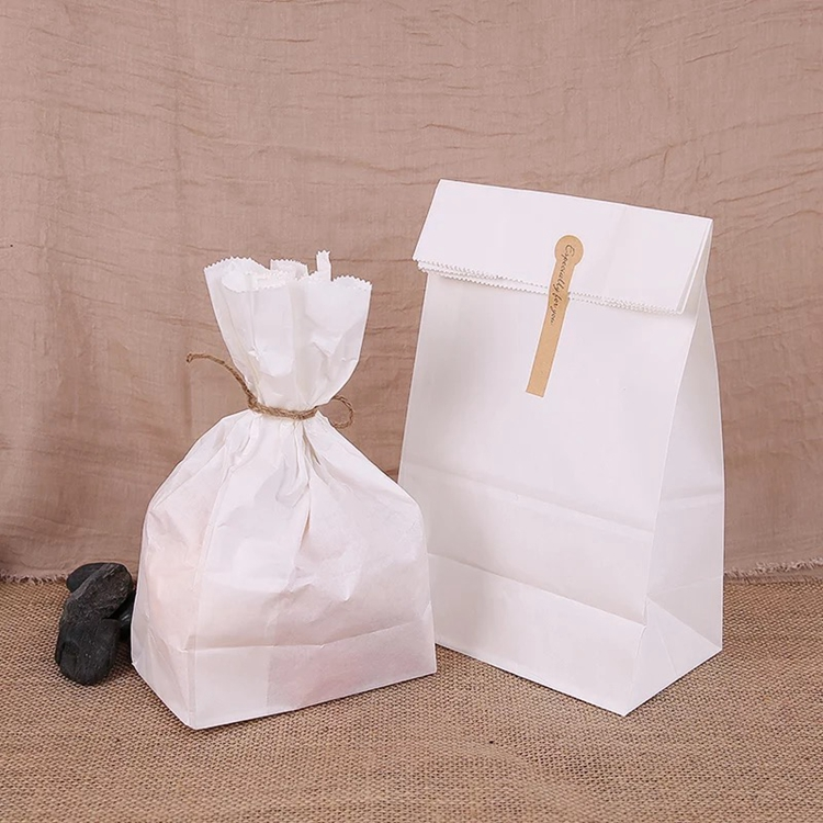 Fast food paper bag takeout bread pancake fried chicken paper bag Wholesale
