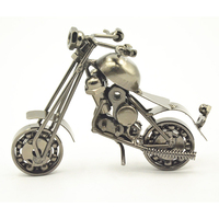 Wholesale Old Fashion Iron Motorbike Craft, Die Cast Motorbike Models For Sale Business Gifts