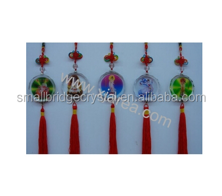 Crystal car interior hanging accessories