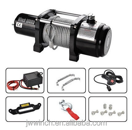 5000 LB-17000LB electric 4x4 Recovery Winch / electric winch control box