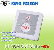 King Pigeon Elderly Alarm Telephone with 8 button dial for Elderly telecare Alarm T2