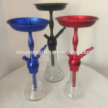 KAYA Hookahs Hooka Shisha Glass Set Bong Vase Water Pipes