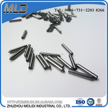 Dia.1.5-7.0 mm polished tungsten carbide pins with sharp cutting angle