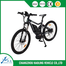 Tornado high quality mountain bike electric bicycle with mid drive motor