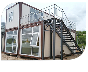 InfiCreation steel premade container homes factory price for booth-13