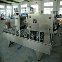 full automatic factory price water cup filling sealing machine with CE