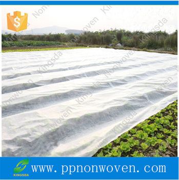 1%-5%UV treated Agricultural winter protection pp spunbonded nonwoven fabric