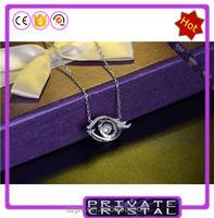 *JN0537 - Dancing Stone pendant fashion silver jewlery charm silver jewelery