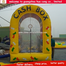 Best selling inflatable cash grabber , inflatable money grabber with high quality