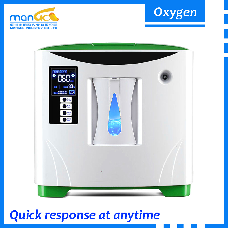 Home Oxygen Therapy Machine 1L 3L 6L Flow 90% Oxygen Purity Commercial Oxygen Concentrator Second Hand Medical Equipment Sale
