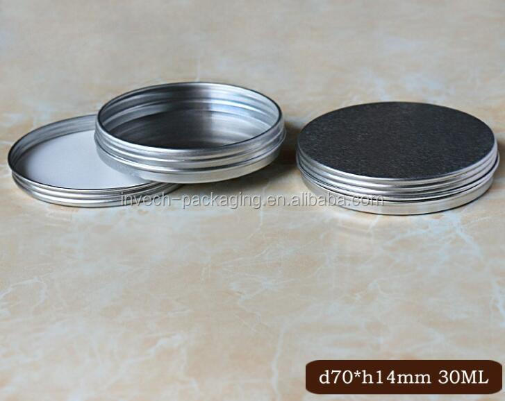 small empty aluminum herb cans mint tin cans for food packaging