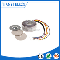 TIANYI Transformer, 50VA, 2 x 12V ac with Toroidal Transformer Cover