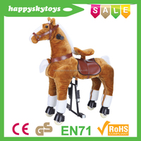 Funny ride toys!!!stuffed toy horse,toy horse to ride,rideable toy horse