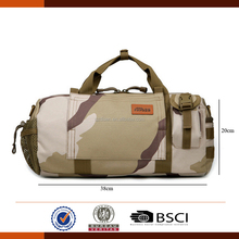 Camouflage Canvas Military Duffle Bag With Handle