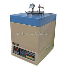 PID control Laboratory vacuum crucible furnace for Fritting and Melting with Temperature 1200C