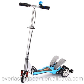 High Quality Kick Scooter Wholesalers Kids Pedal Kick Scooter 3 Wheel Trix Scooter