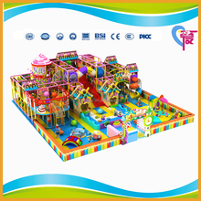 A-15270 Candy Theme Attracted Chocolate Indoor Playground Kids Indoor Play Area