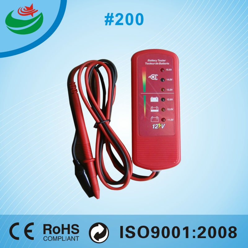 12v solar electric bike battery analyzer battery charger load voltage capacity meter testers made in china