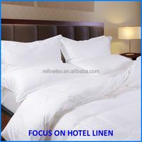 Factory Wholesale! Cotton Jacquard 100% cotton hotel linen/ hotel linen supplies /hotel bed linen Jacquard