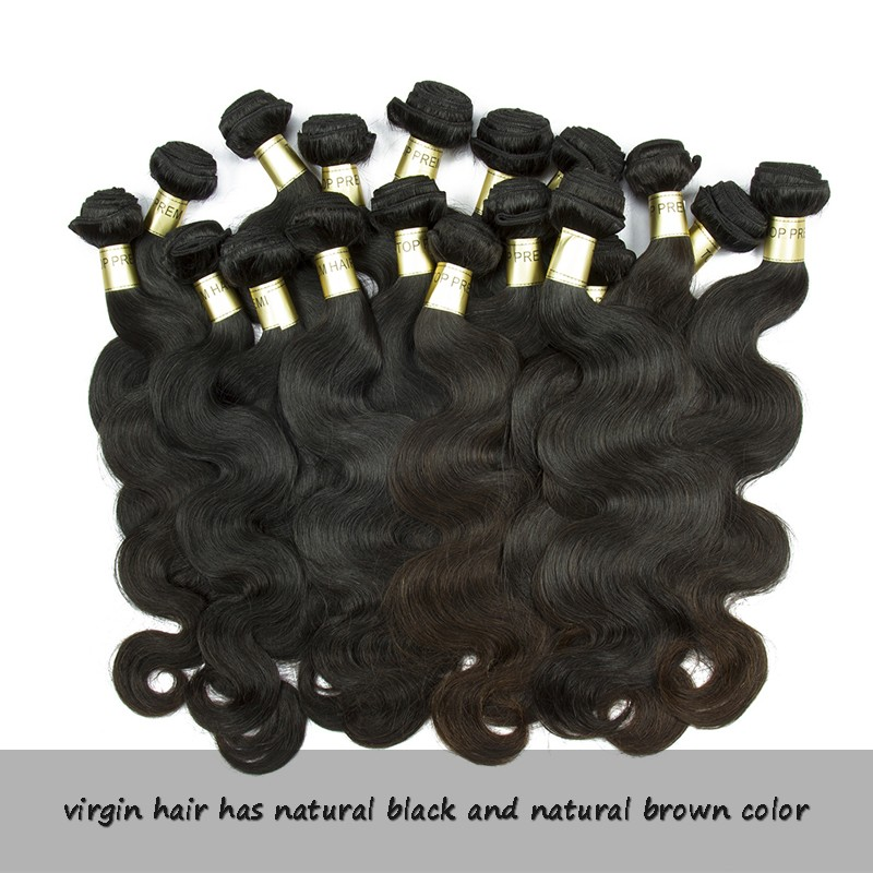 Can be dyed well and last long time body wave Brazilian virgin hair vendors paypal accept