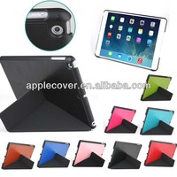 for ipad air leather case fold stand cover free sample