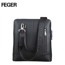 cow leather handbag men leather messenger handbags thin tablet bag