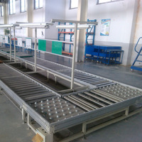 R-5721 china assembly line for gravity roller conveyor