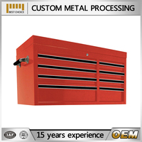 cheap custom metal tool box with wheels cabinet