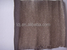 china new product 50% silver fiber anti-radiation knitted fabric