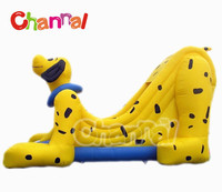 New design pvc dog slide outdoor inflatable amusement equipment