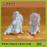 2014 Latest hot sale resin cherub angel statues