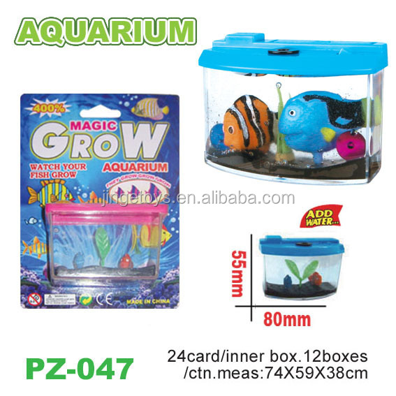 Growing fish tank toys buy water growing fish toys for Kmart fish tank