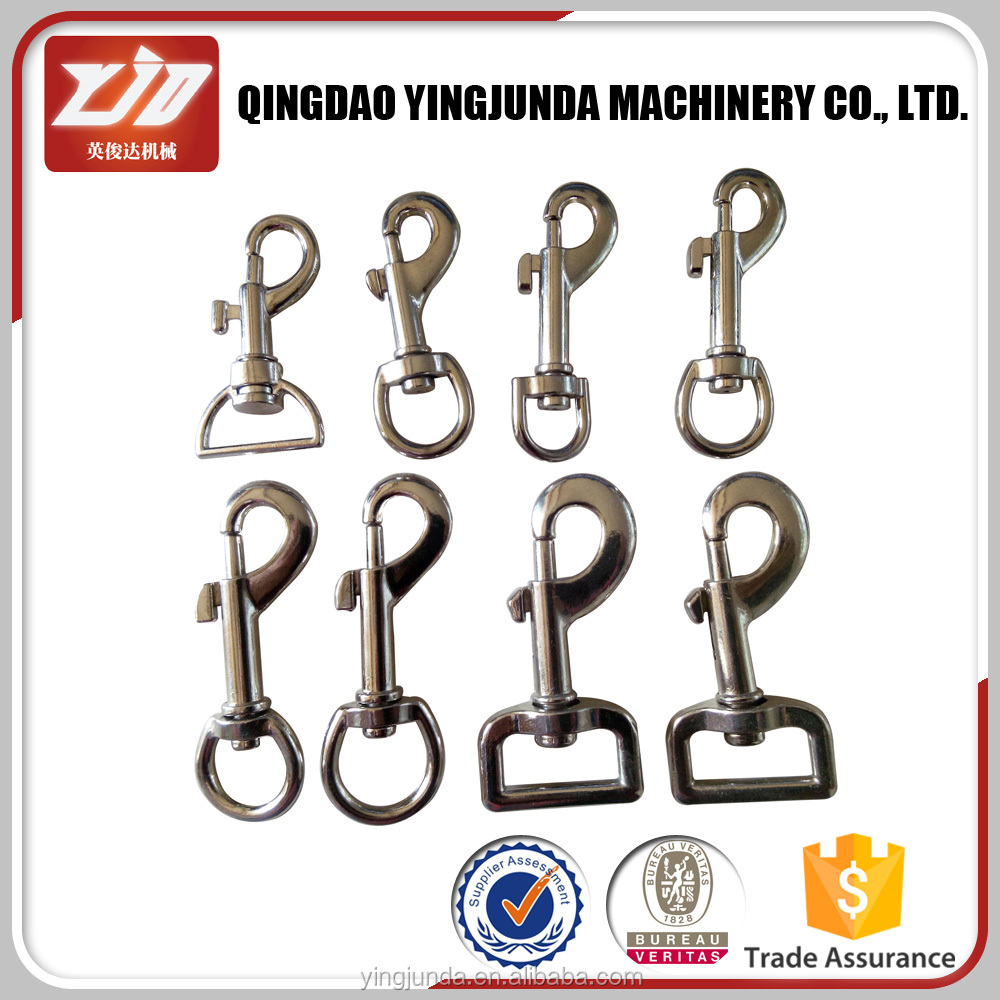 stainless steel swivel carabiner or climbing snap hook