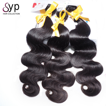 Unprocessed  Body Wave Peruvian Hair Extension,  Fashion Afro Style 8A  100% Virgin Peruvian Human Hair