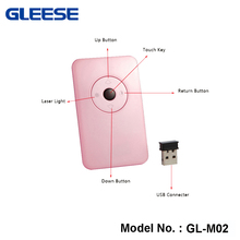 New 2016 Power Point Presentation Remote Control with Laser Pointer 10M Range -Pink Color