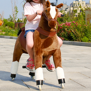 The Last Day's Special Offer Exquisite Technical Rocking Horse Riding Toy Mechanical Horse Toy
