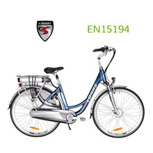 LCD display new model electric bicycle for women