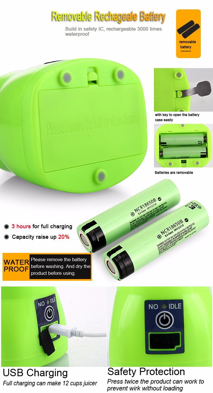 portable fruit juicer