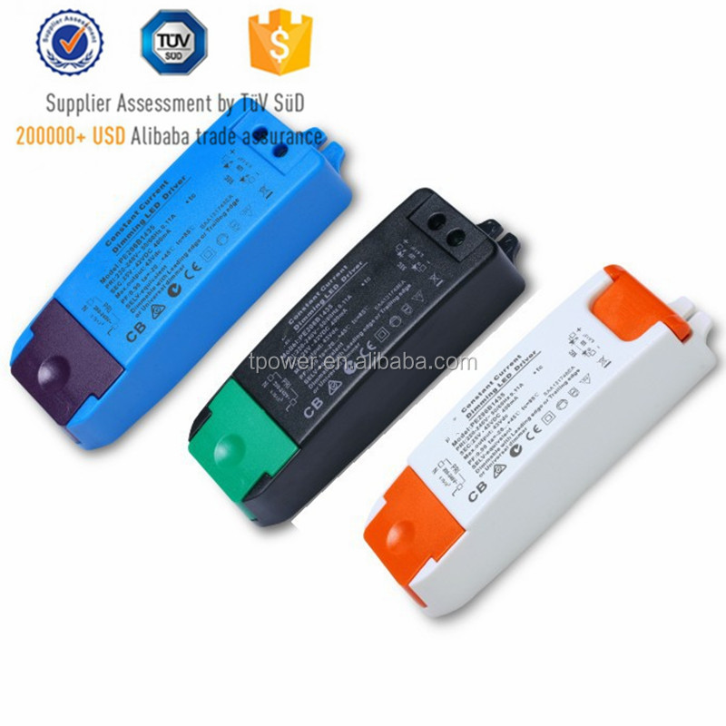 light dimmer Led driver 25-42V DC 300ma 350mA 12w-100w dimmable led drivers ul class 2 power supply for Led lighting dimming