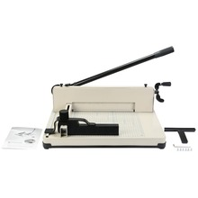 "VEVOR brand new 12"" Paper Cutter Guillotine A4 Trimmer Metal Base Scrap booking Industrial 600 Sheets"
