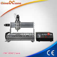 Mini PCB CNC milling machine 6040Z-S65J V2 drill router for PVC,Aluminum etc engraving