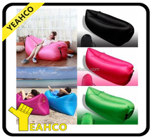 Hot new style Inflatable Air Filled Chair lounge sofa Camping folding Air Bed, 2016 Most Popular Inflatable Sleeping Bed