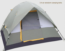 Outdoor Automatic Tent Waterproof Double Layer 3-4 Person Instant Camping Family