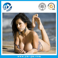 Fashional hot 3d lenticular sexy girl wall decoration pictur