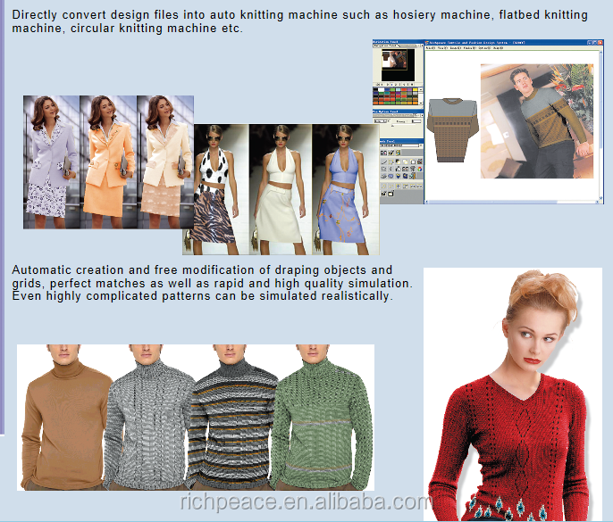 Richpeace Fashion & Knitting Design Software