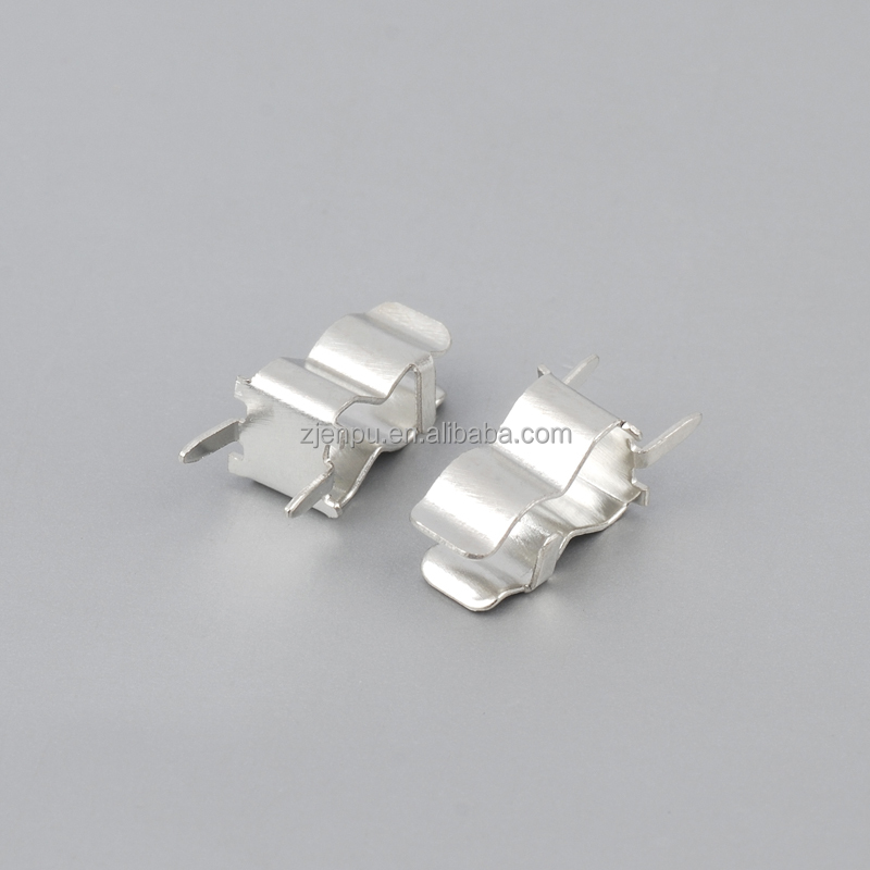 5*20mm 6*30mm China Supplier WZEP Brass Fuse Clips with Tin Plated