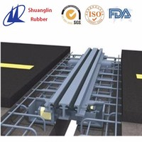 Modular expansion joint for highway bridge
