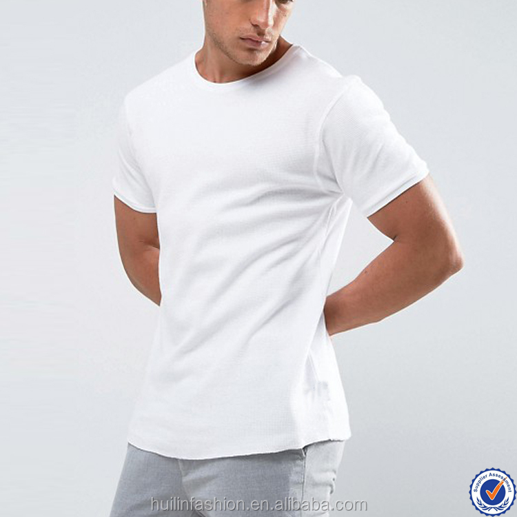 advertising white t shirt muscle fit plain white custom blank t shirt