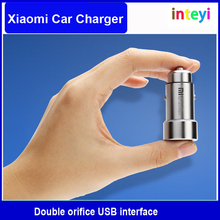 Original Xiaomi USB car charger head adapter cigarette lighter adapter suitable for iphone samsung xiaomi lenovo HTC iPod iPad